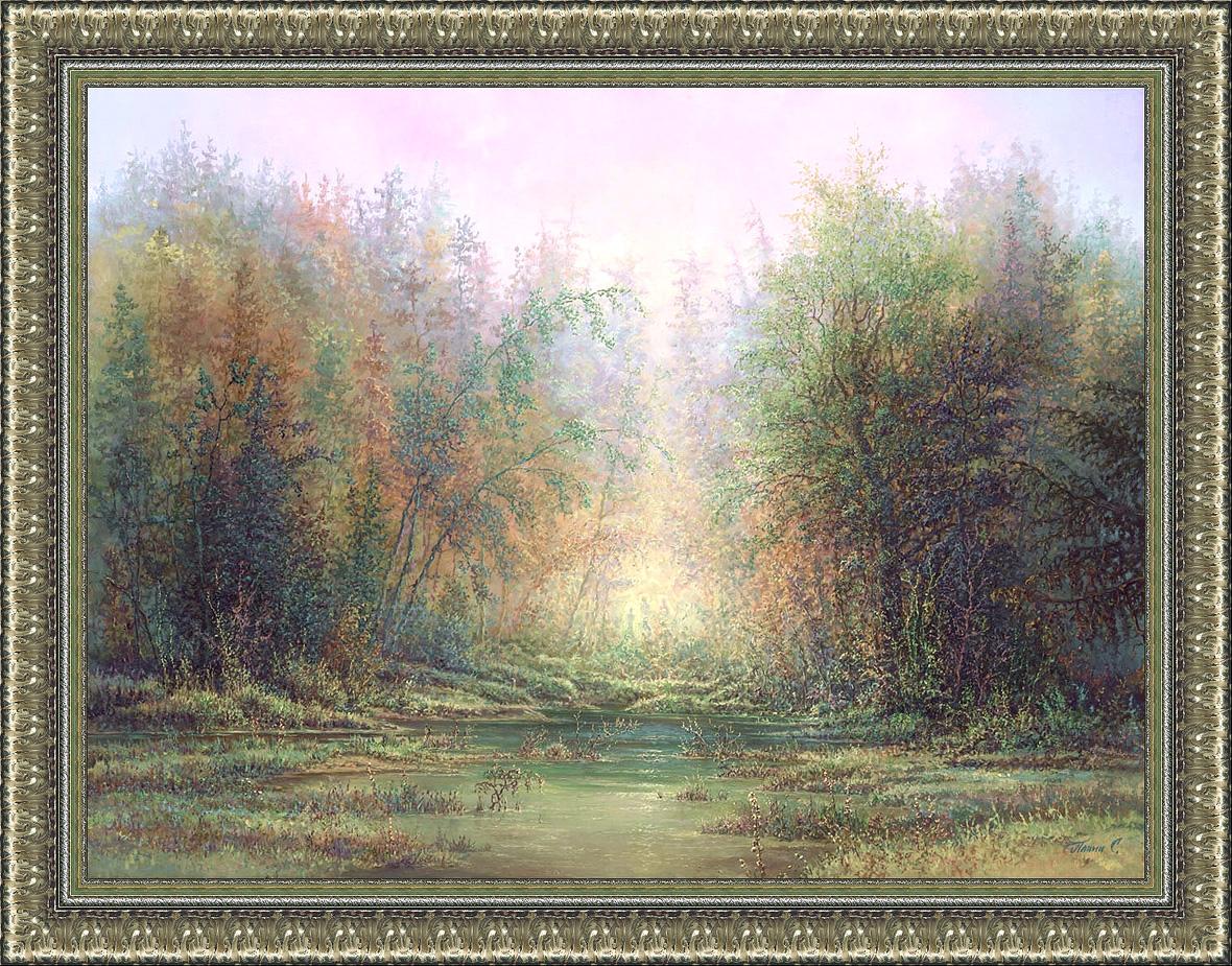 Таинственный лес. х/м, 60 Х 80, 2014г. Персональный сайт Заслуженного художника России Сергея Панина