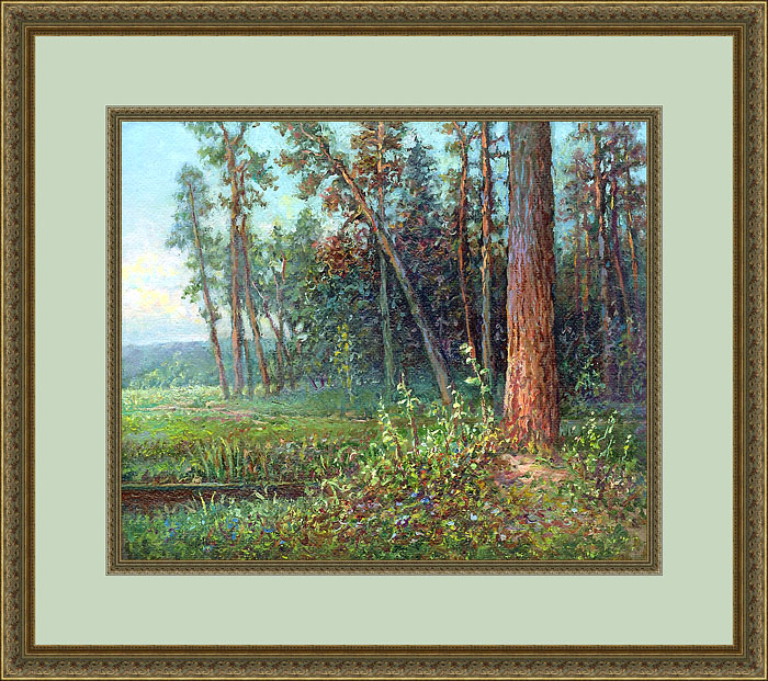 Русский художник Сергей Панин